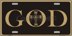 Religious/God License Plates (Many Styles) - Hawkins Footwear and Sports  - 31