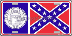 Confederate License Plates (Many Styles) - Hawkins Footwear and Sports  - 14