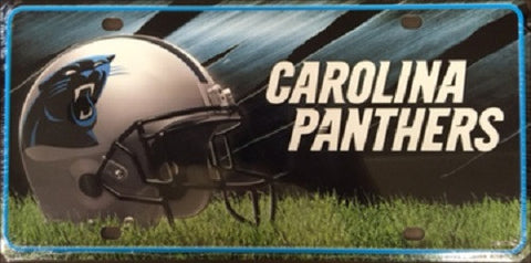 Carolina Panthers Metal License Plate