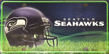 Seattle Seahawks  Metal License Plate