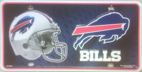 Buffalo Bills Metal License Plate - Hawkins Footwear and Sports