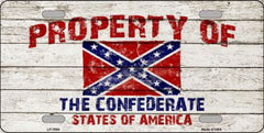 Confederate License Plates (Many Styles) - Hawkins Footwear and Sports  - 5
