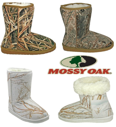 DAWGS Mossy Oak® 9 inch Australian Style Boot - Hawkins Footwear and Sports  - 1