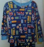 2pc Traffic Pj's by Fisher Price (Infants) 18 Months Blue