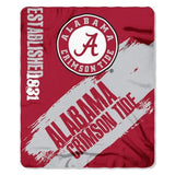 "NCAA 50"" x 60"" Painted Fleece Throw"