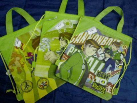 Ben 10 Sackpacks