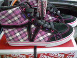 Girls Size 1 & 2 Vans Corrie Hi-top - Hawkins Footwear and Sports  - 4