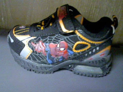 Infant Size 6  Spiderman Sneakers 50% OFF