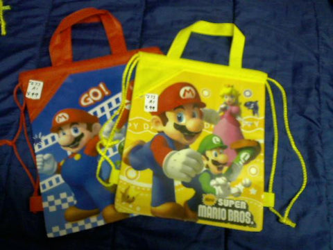 Mario Bros. Sackpacks