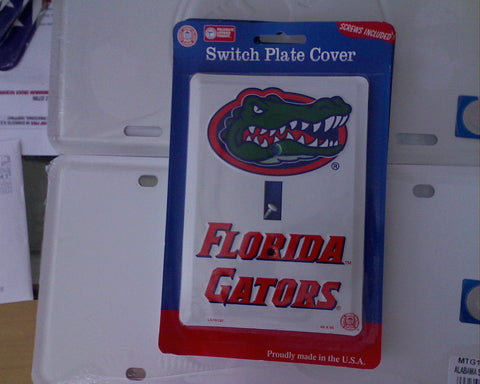 Florida Gators Light Switch Cover
