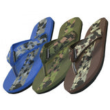S1270-M  Camouflage Flip Flops - Hawkins Footwear and Sports  - 1
