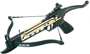 Crossbow 80 lb Self Cocking Aluminum Pistol