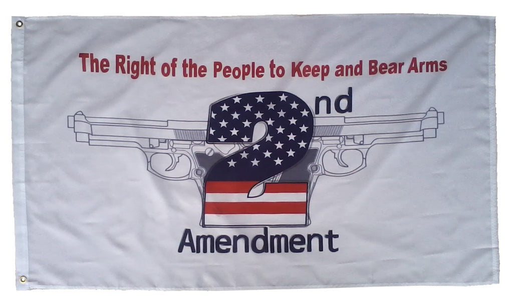 2nd Amendment Poly Flag 3' X 5'