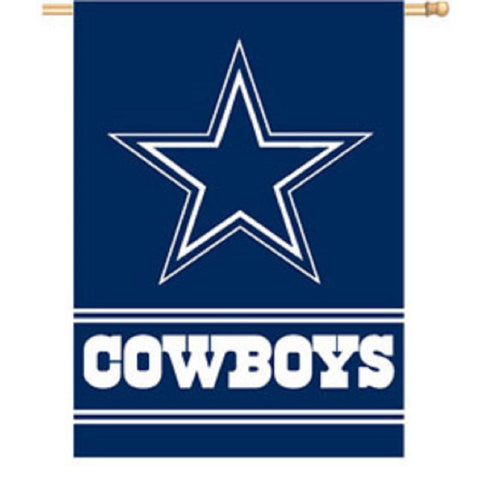"28"" X 40"" Dallas Cowboys 2-sided House Flag"