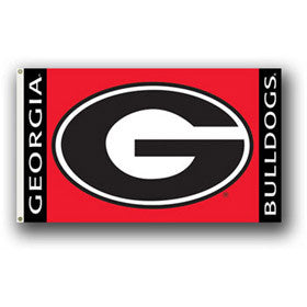 Georgia Bulldogs 3x5 Flag - Hawkins Footwear and Sports