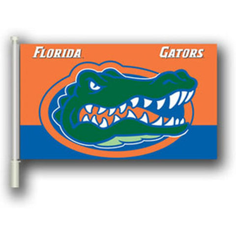 "Florida Gators 11"" X 18"" 2 Sided Car Flag - Hawkins Footwear and Sports  - 1"