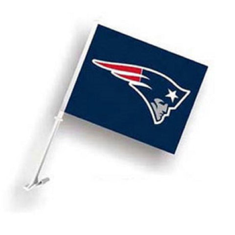 "New England Patriots  Car Flag 11.5"" X 14.5"" - Hawkins Footwear and Sports  - 1"