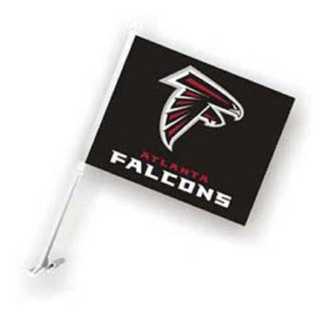 "Atlanta Falcons Car Flag 11.5"" X 14.5"" - Hawkins Footwear and Sports  - 1"