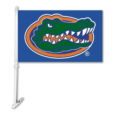 "Florida Gators 11"" X 18"" 2 Sided Car Flag (Blue)"