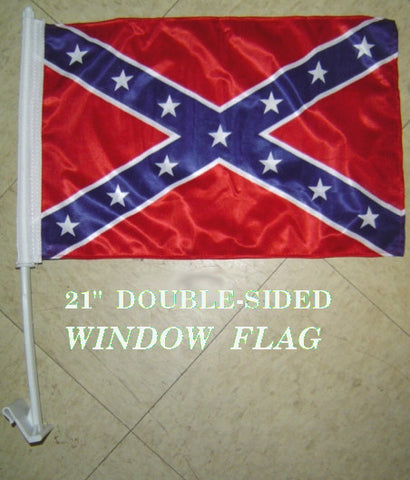 Confederate Battle Car Flag - Hawkins Footwear and Sports