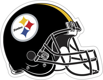 "Pittsburgh Steelers 12"" Helmet Vinyl Magnet"