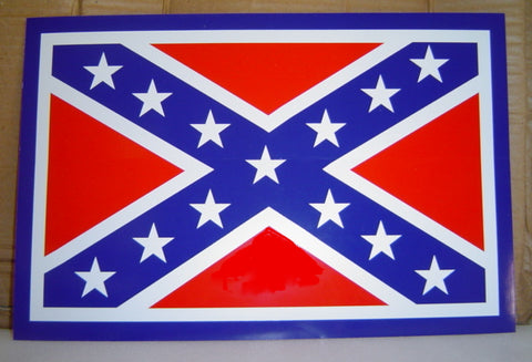 "8"" x 12"" Big Battle Flag Sticker"