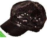 SEQUIN NEWSBOY DIVA FASHION HATS CAPS - Hawkins Footwear and Sports  - 6