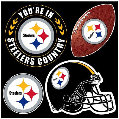 Pittsburgh Steelers 4 Piece Magnet Set