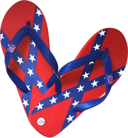 Youth / Woman Confederate Flip Flops