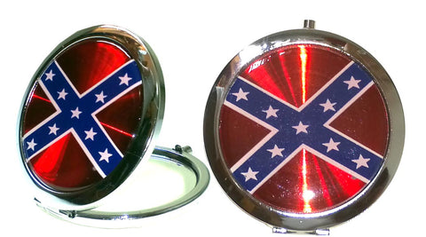 Battle Flag Compact Mirrors
