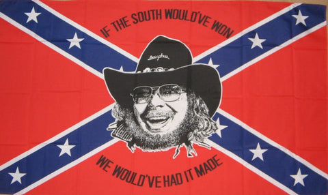 Hank Jr Confederate Naval Jack Battle Flag 3' X 5'