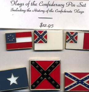 Confederate Hat pin Set