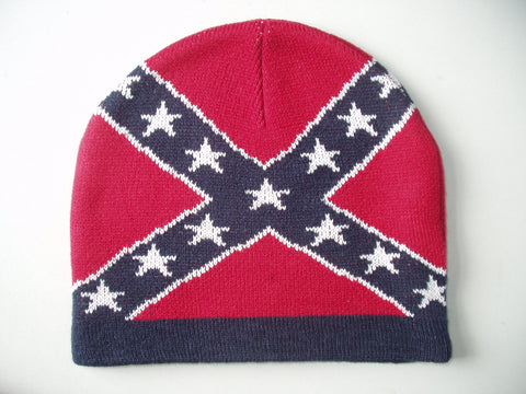 Battle Flag Knit Beanie Cap