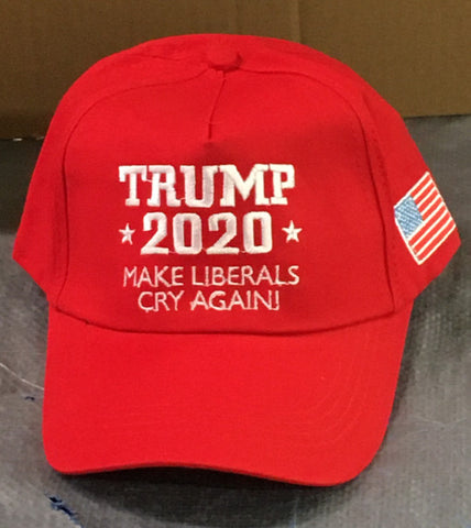 Trump 2020 Make Liberals Cry Again Cap