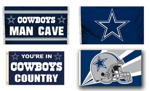 "Dallas Cowboys 3""x 5' Flag"
