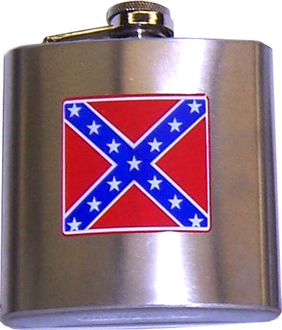 Stainless Steel Battle Flag Flask