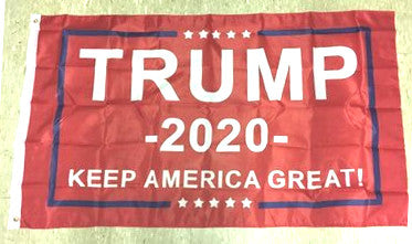 Trump 2020 Keep America Great Red Poly 3'x5' Flag