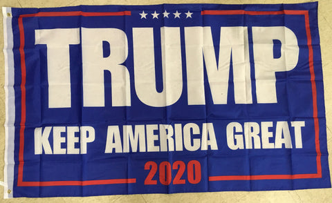 Trump 2020 Keep America Great Poly 3'x5' Flag