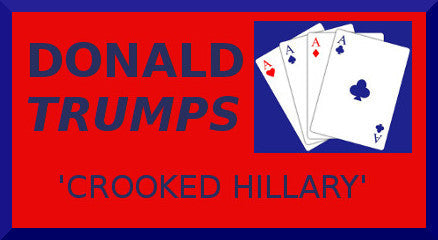Crooked Hillary Vinyl Decal