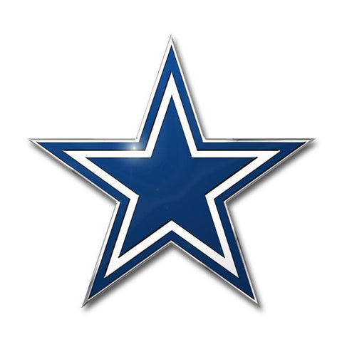 *Dallas Cowboys Colored Aluminum Car Auto Emblem