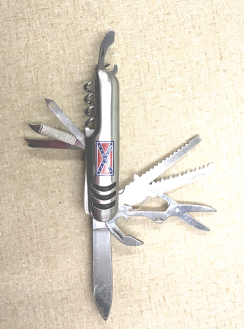 Swiss Army Styled Multi-Tool w/ Batte flag