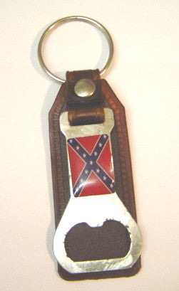 Confederate Bottle Opener key chain - Hawkins Footwear and Sports