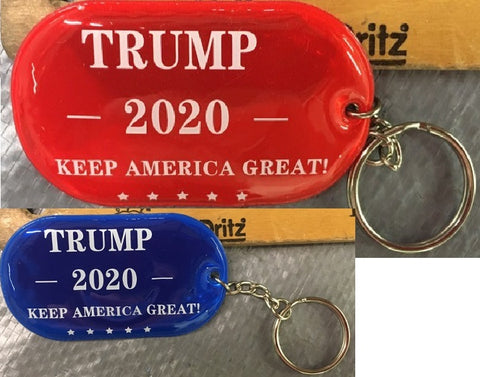 Trump 2020 Make America Great Gel Key Chains