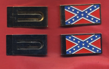 Battle Flag Money Clip