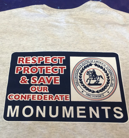 Save Our Monuments Tee Shirt