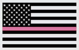 3' x 5' Pink Lives Matter  (breast cancer awareness) Sewn 210-D Flag