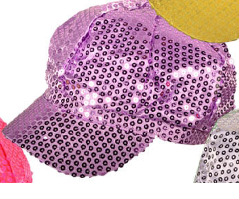 SEQUIN NEWSBOY DIVA FASHION HATS CAPS - Hawkins Footwear and Sports  - 9