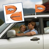 Baltimore Ravens Shaped Car Flag - Hawkins Footwear and Sports  - 3
