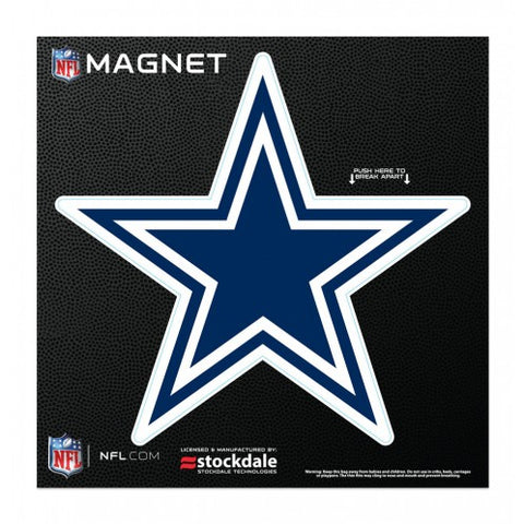 "Dallas Cowboy 6"" X 6"" Outdoor Magnet"