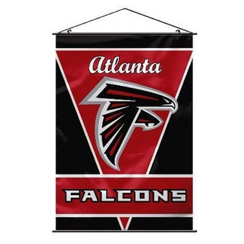 "28"" X 40"" Atlanta Falcons Wall Banner"